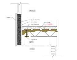 Soffit CAD Detail