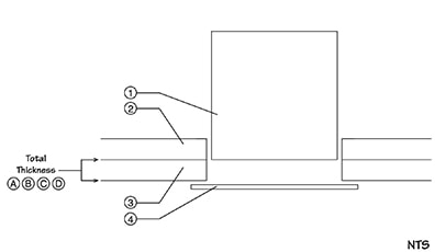 SonaKrete Recessed Light Fixture