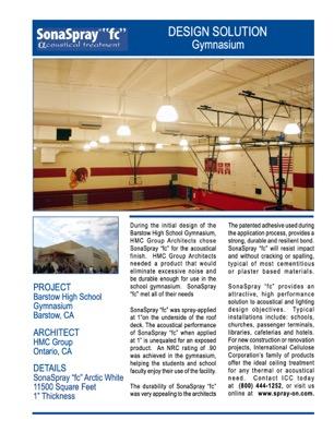 Barstow High School Gym