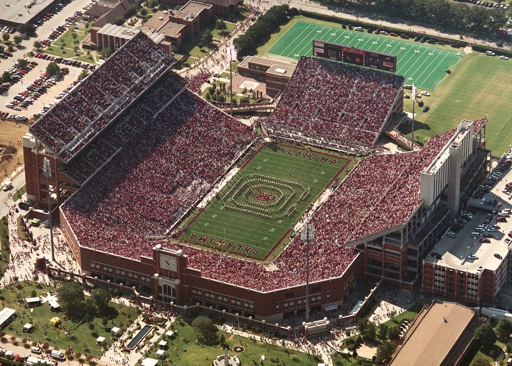 Oklahoma Memorial Stadium K-13