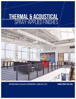 Thermal & Acoustical Finishes Brochure