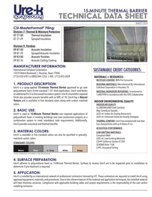 Ure-K Technical Data Sheet