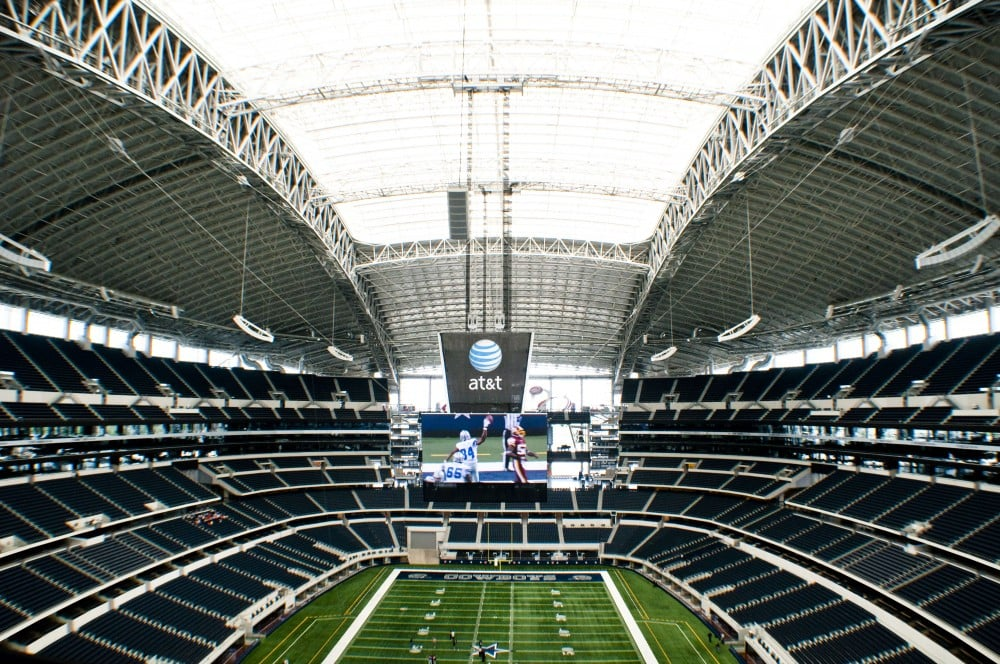 Cowboys Stadium K-13